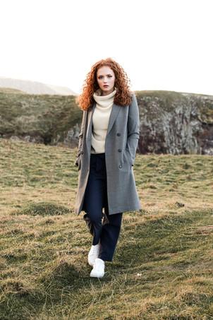 Designer - Story Of Mine  MUA & Hair Stylist - Suzanne Christie  Model - Celine