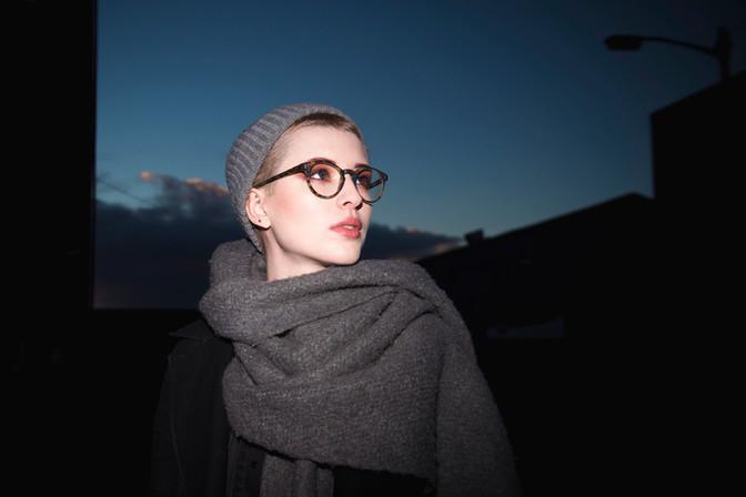 Photographer - Hannah Houston  Model - Fran Calder  Hair and Makeup - Suzanne Christie Location - Broadscope Studios