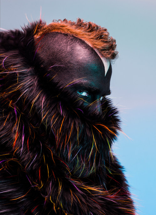 Photographer - Weronika Bachleda-Baca (Ortar Photography) Designer - Piotr Pyrchala (Birds of Prayers) MUA & Hair Stylist - Suzanne Christie  Model - Graeme MacFadyen
