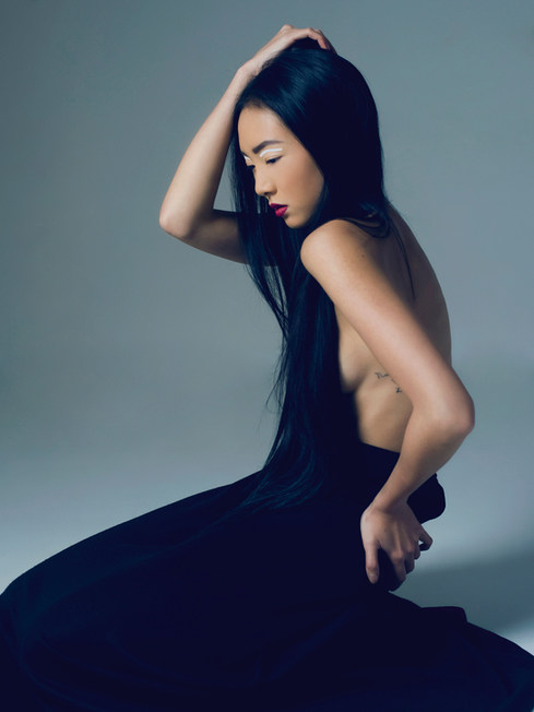 Photographer - Hannah Houston  MUA & Hair Stylist - Suzanne Christie Model - Ivy Eliane Ruolin