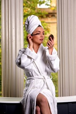 Pippa of London Photographer - Graeme MacDonald MUA - Suzanne Christie  Model - Ashley Jane Location - Hotel Du Vin, Glasgow