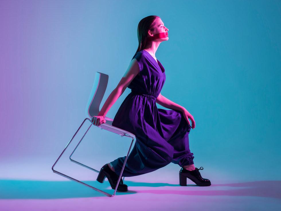 Photographer - Weronika Bachleda-Baca  Designer - Piotr Pyrchala (Birds of Prayers) MUA & Hair Stylist - Suzanne Christie  Model - Karolina Zakarauskaite