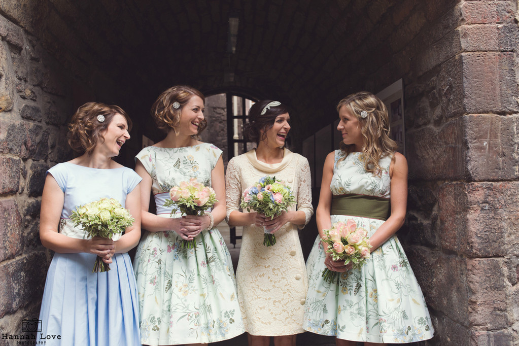 Photographer - Hannah Love Photography  Bride - Katy  MUA & Hair Styling - Suzanne Christie  Location - Riddle's Court