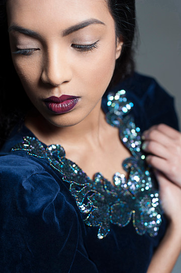 Photographer - Hannah Houston  MUA & Hair Stylist - Suzanne Christie  Model -  Farhana Shabana Akhter