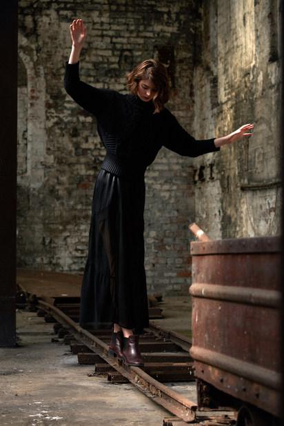 Photographer - Andrew R Moore  Stylist - Tegan Whybrow MUA & Hair Stylist - Suzanne Christie Model - Jen Littlejohn  Location - National Mining Museum