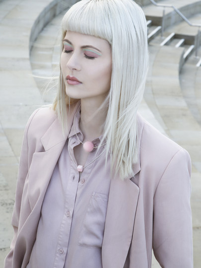 Photographer - Valentina Pimanova Jewellery Designer - Evgeniia Balashova Jewellery MUA & Hair Stylist - Suzanne Christie Model - Emily Fulton Styling - Akvilė Su