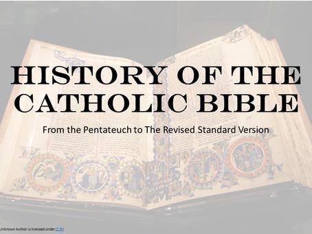 History of the Catholic Bible
