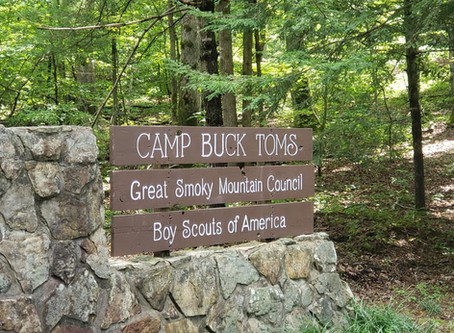 Boy Scouts' Camp Buck Tom Service Project