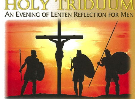 (Updated) Men's Night of Reflection