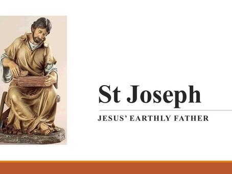 St. Joseph, Jesus' Earthly Father