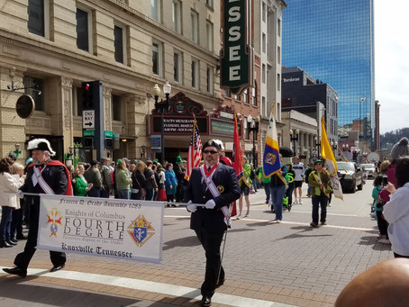 Knoxville's 2019 St. Patrick's Day Parade