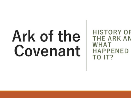 History: The Ark of the Covenant