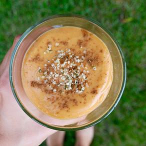 Sweet Potato-Mango Smoothie