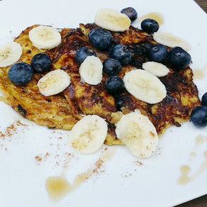 Easy-Breezy Blueberry Pancakes