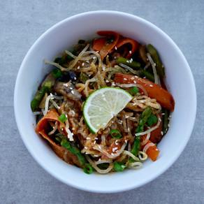 Cashew-Kelp Pad Thai Noodles