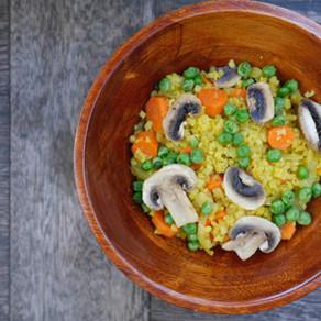 Golden Turmeric Cauliflower Rice