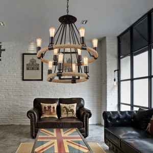 Vintage-Country-Style-Pendant-Industrial