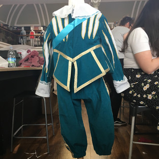 Interactive Costumes for Auckland Castle