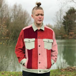 Four Tone Corduroy Jacket