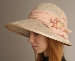Sinamay Hat 2