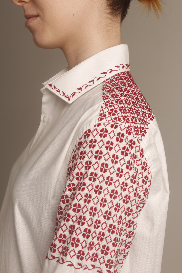 Embroidered Shirt - Side View