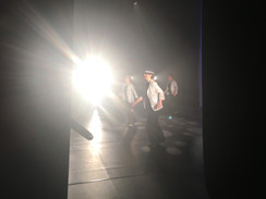 View from in the wings (ready for a quick change)