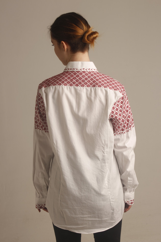 Embroidered Shirt - Back View