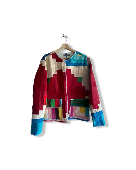 Quilted Kimono Style Jacket