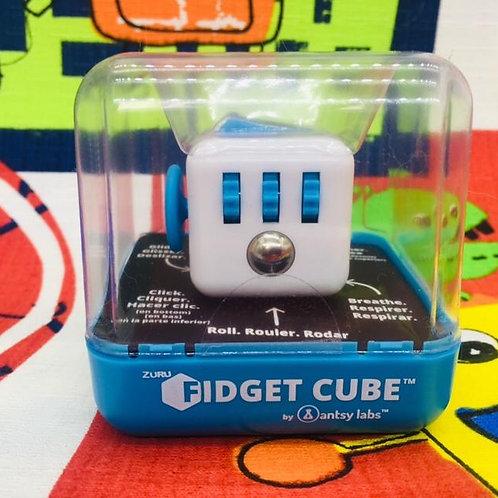 Antsy Labs Fidget cube blanco azul