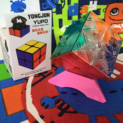 2x2 YJ Yupo stickerless transparente