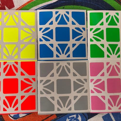 Stickers Dreidel vinil colores estándar