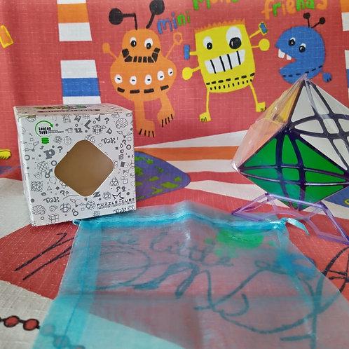 LanLanRex cube edición limitada base azul transparente