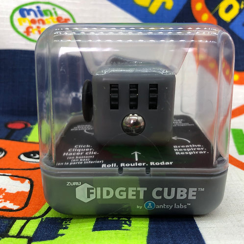 Antsy Labs Fidget cube gris oscuro negro