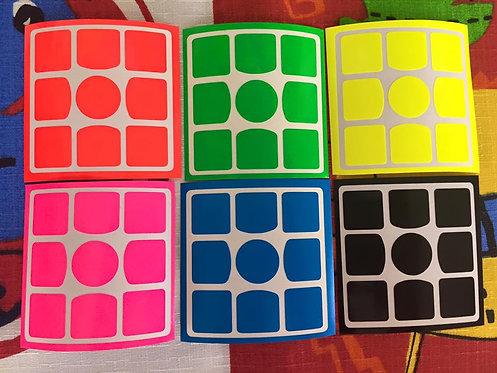 Stickers 3x3 Gans 3 56/57 vinil full bright