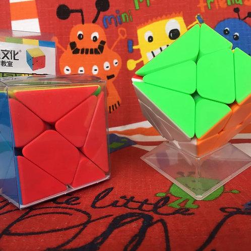 Moyu MoFangJiaoShi Axis cube stickerless colored