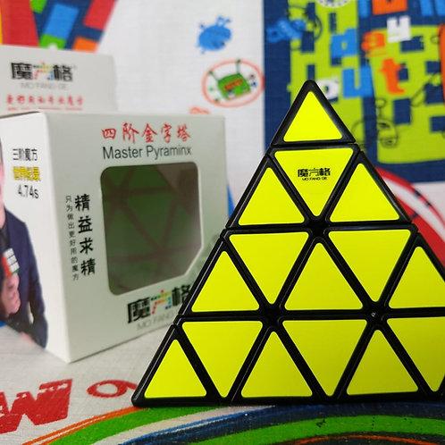 QiYiPyraminx 4x4 base negra