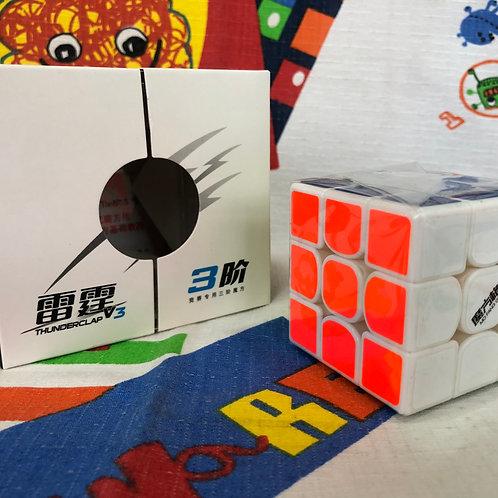 3x3 QiYi Thunderclap v3 base blanca