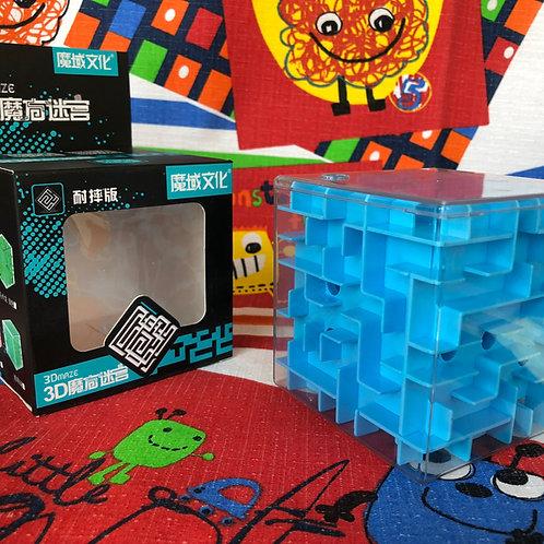 Moyu Cubo Laberinto 3D 80mm azul