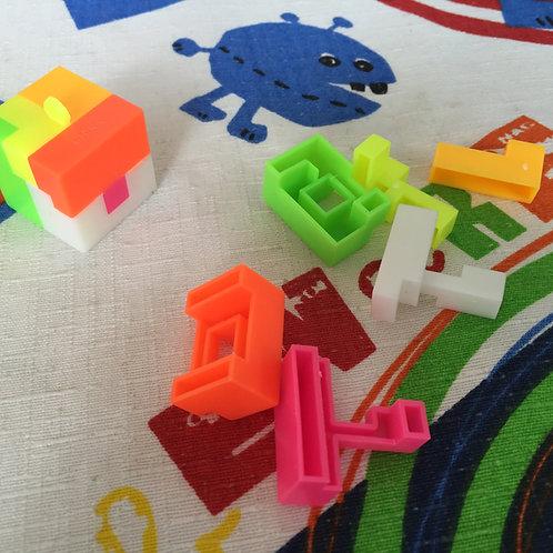 Cubo mini de 6 piezas