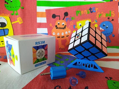 3x3 Moyu RS3M V3 2020 magnético base negra