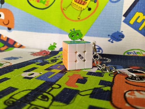 QiYi 3x3 Mini Llavero stickerless