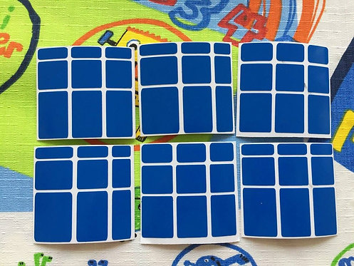 Stickers Mirror vinil azul