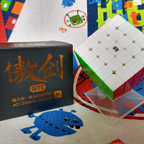 5x5 Moyu AoChuang GTS magnético stickerless colored