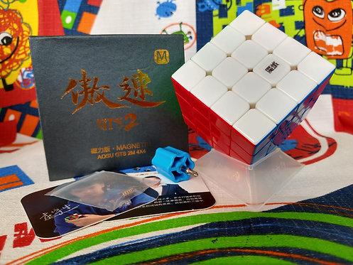 4x4 Moyu Aosu GTS v2 M magnético stickerless colored