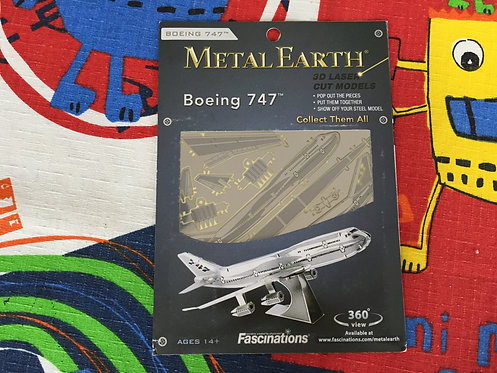 Puzzle metálico 3D avión Boeing 747