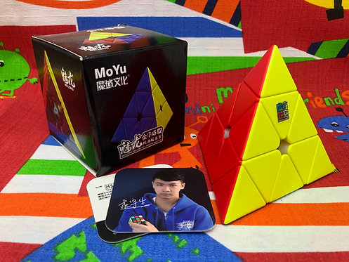 Moyu Pyraminx Meilong magnética stickerless