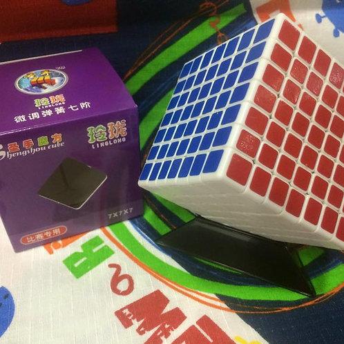 7x7 ShengShou Mini LingLong base blanca