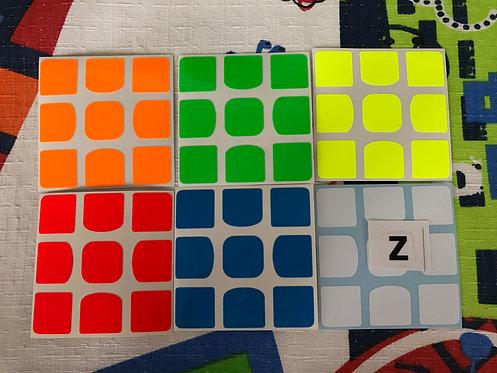 Stickers Z 3x3 QiYi Valk Z bright