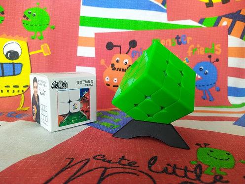 3x3 Yuxin Little Magic base verde