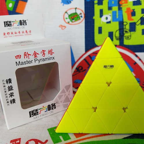 QiYi Pyraminx 4x4 stickerless colored